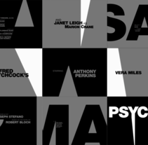 Psycho. A Motion Graphics project by Borja Alami Vidal - Jan 09 2008 12:00 AM