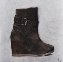 Massimo Dutti's Shoes. A Design&Illustration project by Luis Miguel  Falcón          - 10.09.2013