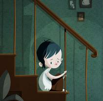 Pasa algo raro. Un proyecto de Ilustración de Marta García Pérez - 11-09-2013