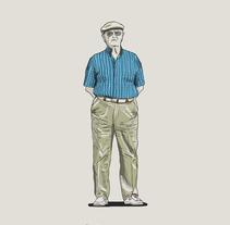 Madrid, Ilustraciones para tabletas y móviles. A Design&Illustration project by Ernesto_Kofla  - Sep 18 2013 03:35 AM