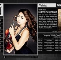 Web Música. Un proyecto de Diseño y UI / UX de Jose Antonio Rios         - 19.09.2013