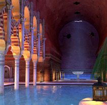 Arabic baths. A Film, Video, TV, and 3D project by Ana Burell         - 14.10.2013