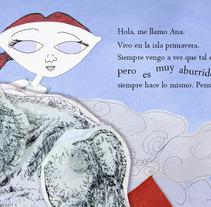 Ana y el cocodrilo Garfio. El cuento. A Illustration project by Diego Lamas López         - 16.10.2013