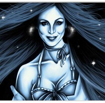 Lili's Commission. A Illustration project by Madame Bizarre         - 22.10.2013
