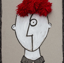 Con un 6 y un 4 (hago la cara de tu retrato). Um projeto de Ilustração de Patossa _Patrícia _Barrachina         - 22.10.2013