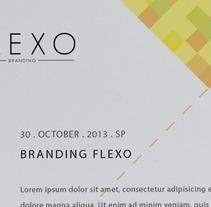 Imagen Corporativa FLEXO. A Design project by Flexo Brand         - 30.10.2013