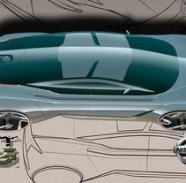Finalista Concurso AUTOPISTA - UPV - NISSAN Diseño Automóvil.. A Design&Illustration project by Abel Vañó Seguí         - 12.11.2013