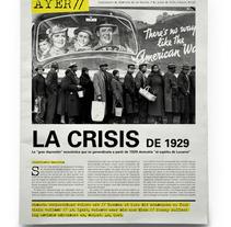 Ayer. Un proyecto de Diseño de Marta Sisón Barrero - 18-11-2013