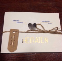 Invitación / Einladungskarte. A Design&Illustration project by Zaira Serrano Huergo         - 22.11.2013