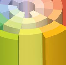 Chromatic Objects. Un proyecto de Diseño, Ilustración y 3D de Refrito Studio  - 21-11-2013
