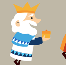 Reyes Magos. A Illustration, and Animation project by Sergio Rodríguez - Feb 03 2014 12:00 AM
