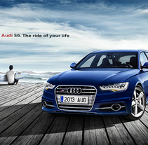 Audi S6. The ride of your life. Un proyecto de Publicidad, Fotografía y 3D de DAVID CASAS SANCHEZ         - 25.09.2013