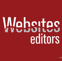 Websites Editors. A Design project by Susana Real - 26-11-2013