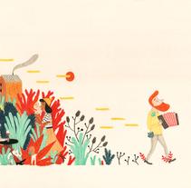 Colaboración en Kireei magazine 5. A Illustration project by Leire Salaberria - Nov 27 2013 12:00 AM