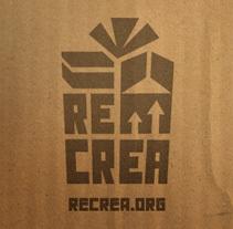 Recrea. Un proyecto de Diseño y Publicidad de Víctor Ballester Granell - 27-11-2013