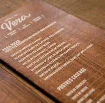 Vera. A Design project by Printing Studio         - 01.12.2013