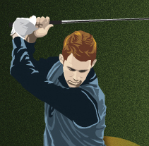 JUEGO GOLF ON-LINE PARA SANTANDER. A Design project by Aitor Saló         - 02.12.2013