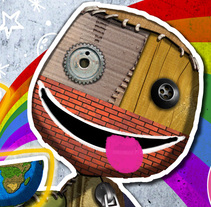 """Little Big Planet"" (COVER). A Design, Illustration, and Advertising project by Chiko  KF - 11-10-2008"