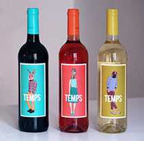 TEMPS. A Illustration, Graphic Design, and Packaging project by theroomrooms'         - 28.02.2015