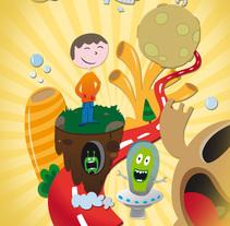 Poster. Un proyecto de Ilustración de Isaac González         - 17.12.2013