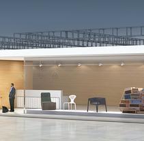 Stand Mobiliario. Um projeto de Design, Instalações e 3D de Lorena Torres Böker         - 11.09.2013