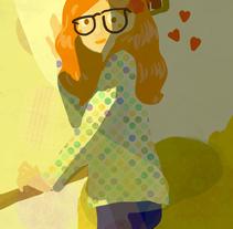 Pruebas de luz. A Illustration project by Larisa Bumb - 22-12-2013