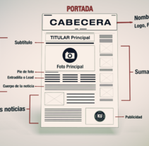 Newspaper. A Design, Motion Graphics, and 3D project by Roberto del Pino         - 24.11.2013