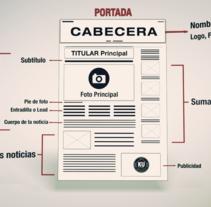 Newspaper. Um projeto de Design, Motion Graphics e 3D de Roberto del Pino         - 24.11.2013