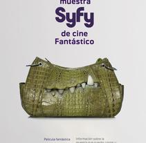 11ª Muestra Syfy de cine Fantástico. A Design project by Teresa  - 06-01-2014