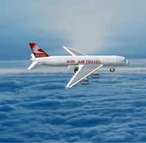 """Diseño """"Proyecto Avión M380"""" Catia v5 - módulo Part Design (sólidos) . Um projeto de Design de Francisco Javier Palma Torres         - 12.01.2014"""