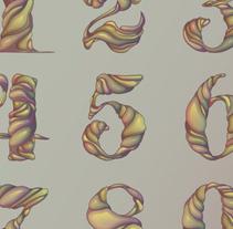 Números Ilustrados. Un proyecto de Ilustración y Diseño de Cristian Eres - Martes, 21 de enero de 2014 00:00:00 +0100