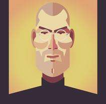 Steve Jobs. Um projeto de Design e Ilustração de Federico Cerdà         - 20.01.2014