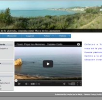 Web para venta de vivienda. A IT, and Web Development project by Iván González - 19-06-2013
