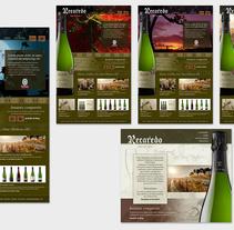 Newsletters, banners, marketing web. Un proyecto de Dirección de arte, Gestión del diseño, Diseño gráfico, Diseño Web y Desarrollo Web de Diana Tubau Gassiot         - 31.01.2014