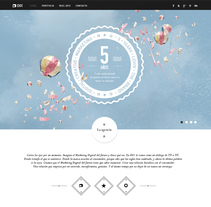 D01 New Site. A UI / UX, Art Direction, and Web Design project by Julián Pascual - 01-02-2014