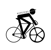 Hipters Logo. A Br, ing&Identit project by Maite  Artajo - 16-02-2013