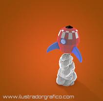 Low poly ( cinema 4D ). Un proyecto de 3D de jose ramón puerto urios         - 18.02.2014