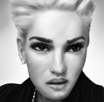 Gwen Stefani. A Illustration project by José Luis Pizarro Feo - 19-02-2014