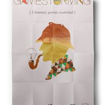Gamestorming Poster. A Design project by Mephisto  - Feb 20 2014 12:00 AM