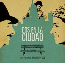 Dos En La Ciudad. Un proyecto de Gestión del diseño, Eventos y Diseño gráfico de Pablo Caravaca - 27-02-2014