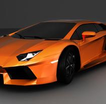 Lamborgini Aventador LP 700-4. A 3D, Automotive Design, and Graphic Design project by Pietrangelo Manzo         - 03.03.2014