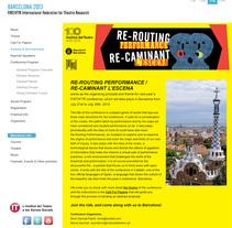 Web Barcelona 2013|FIRT/IFTR . Un proyecto de Diseño Web y Desarrollo Web de Chelo Fernández Díaz - Domingo, 09 de septiembre de 2012 00:00:00 +0200