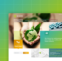 SIGRE Website. A UI / UX, Web Design, and Web Development project by Jimena Catalina Gayo         - 28.02.2014