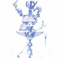 Robots. Un proyecto de Ilustración de Óscar Lloréns - Martes, 11 de marzo de 2014 00:00:00 +0100