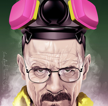 Walter White. A Illustration, Film, Video, and TV project by Jose Angel Trancón Fernández - 19-11-2013