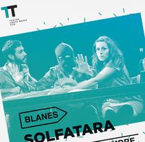 Teatre de la Costa Brava Sud. Un proyecto de Br, ing e Identidad, Dirección de arte y Diseño gráfico de Pau Serra Souto - Viernes, 14 de marzo de 2014 00:00:00 +0100