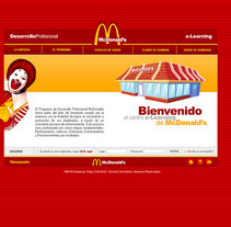 E-LEARNING MCDONALDS. A Design, Web Design, and Web Development project by Luis Miguel Pittol Mendoza         - 15.03.2014