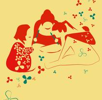 Ilustración y diseño: Tribu Creativa de Mamás. Un proyecto de Diseño, Ilustración, Dirección de arte y Diseño gráfico de carmen esperón - 16-03-2014