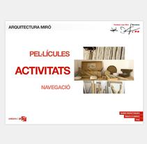 Arquitectura Miró. A Interactive Design project by Cristina Fabregas Escurriola         - 17.03.2014