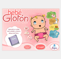 Bebé Glotón. A Design&Illustration project by Cristina Fabregas Escurriola         - 17.03.2014